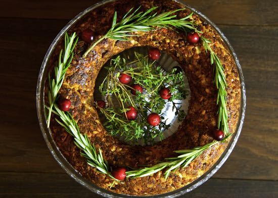 Chestnut and Cashew Nut Roast – Vegan Christmas
