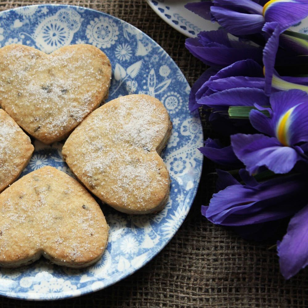 Lavender Biscuits
