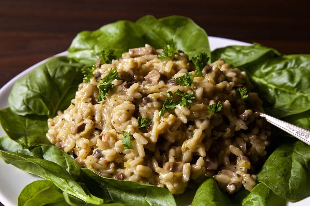 Easy Mushroom Risotto – The Simplest Vegetarian Recipes