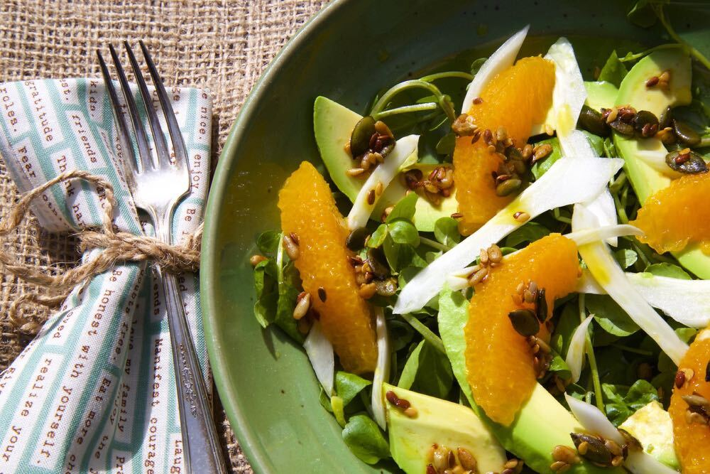 Orange, Fennel and Avocado Salad – Celebrating Citrus!
