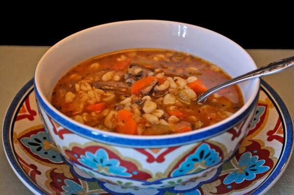 Beef Barley Soup; forecasting the weather