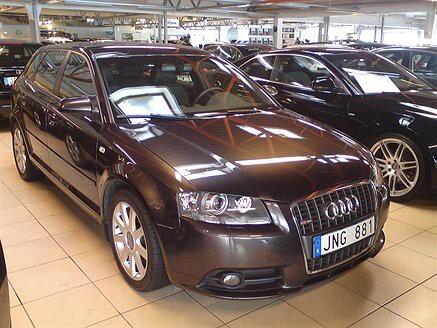 Audi A3 SP-Back 2,0 TDI Quattro S-Line