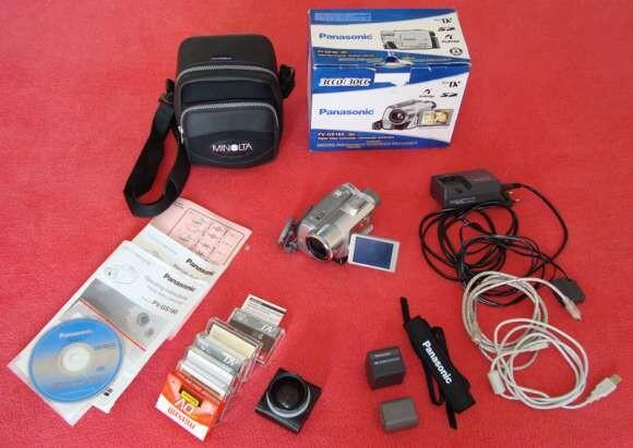 panasonic videokamera PV-GS180