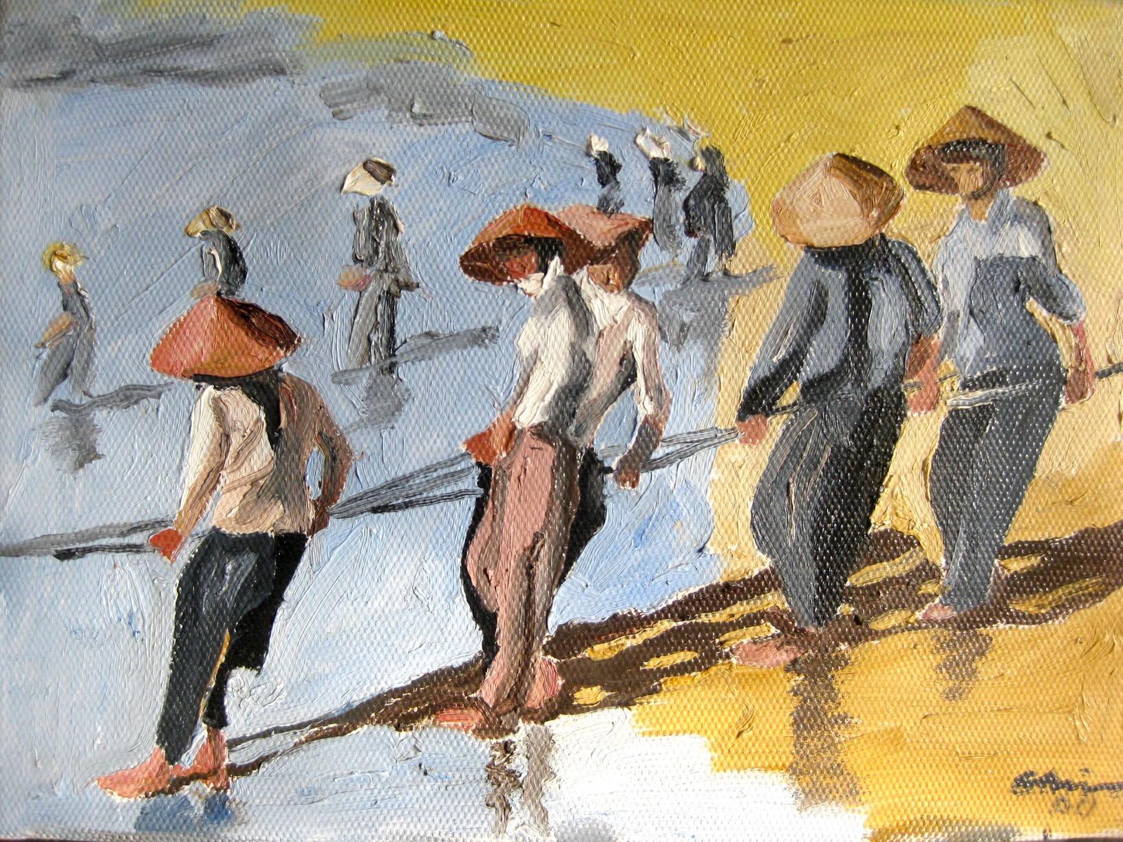 Vietnamesiska tavlor säljes!