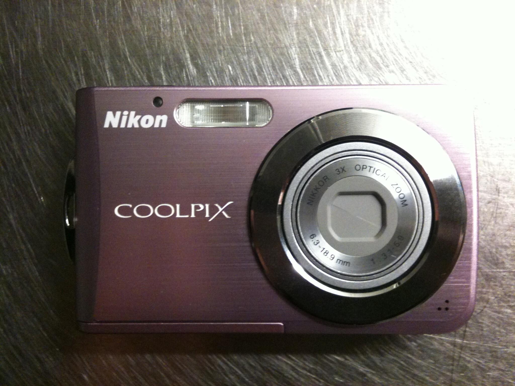 Ultrakompakt 8 megapixels Nikon digitalkamera