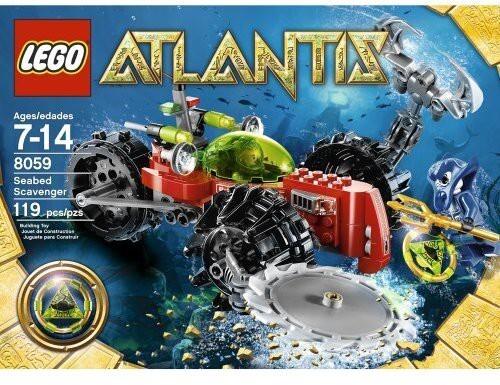 Lego Atlantis Havsbottenavsökare 8059
