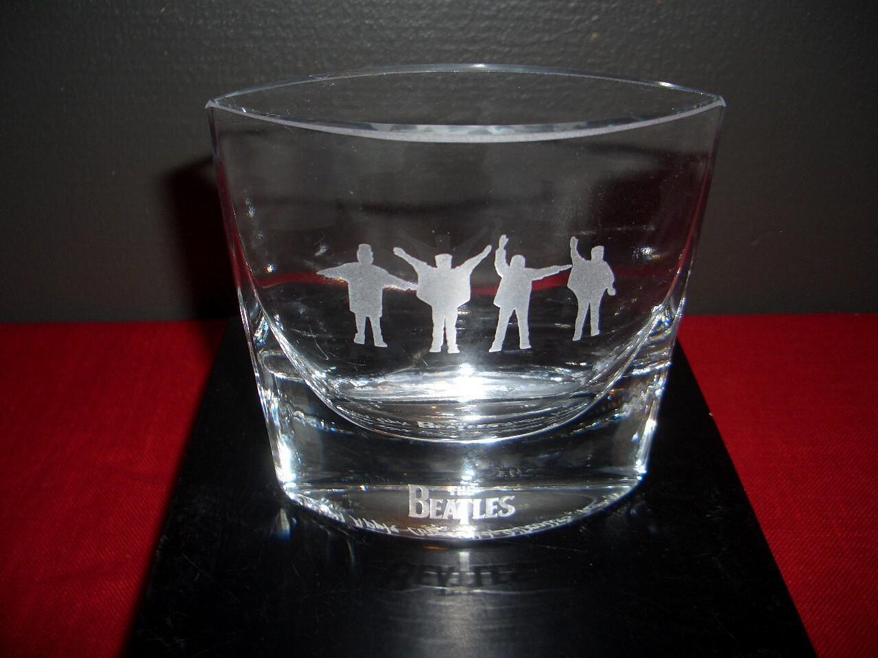 Beatles Vas Help (frostad) Nybro glasbruk