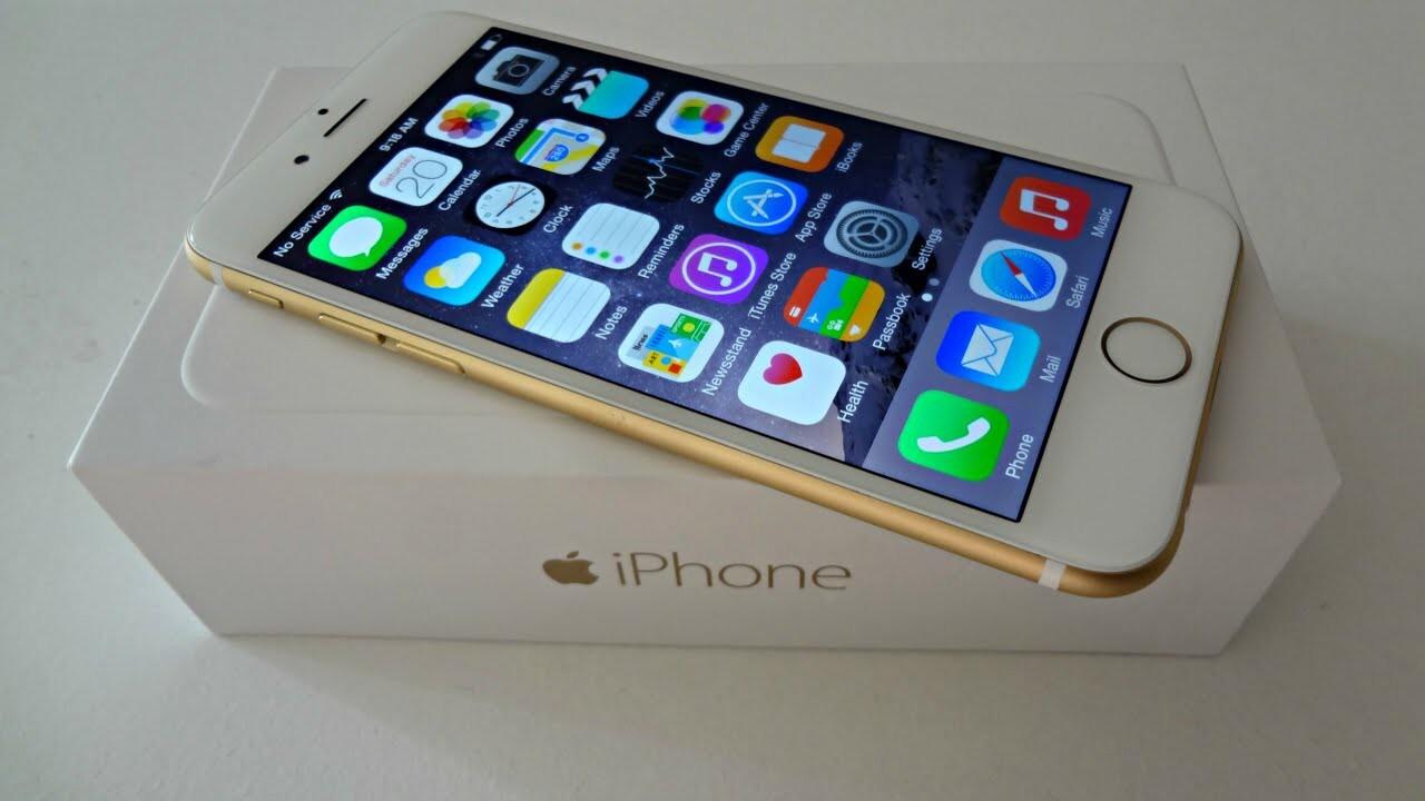 Apple iPhone 6 Plus (5.5 inch) 64GB Gold Factory U