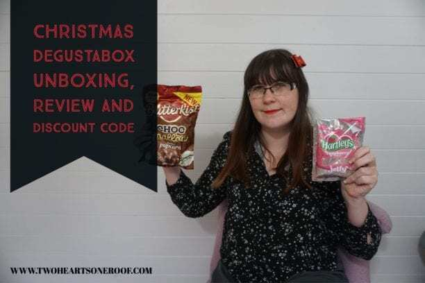 Christmas Degustabox Unboxing, Reviews and Discount Code