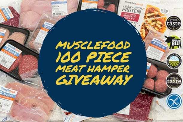 12 Days of Christmas Giveaway – Day 12 100 Piece Musclefood Hamper