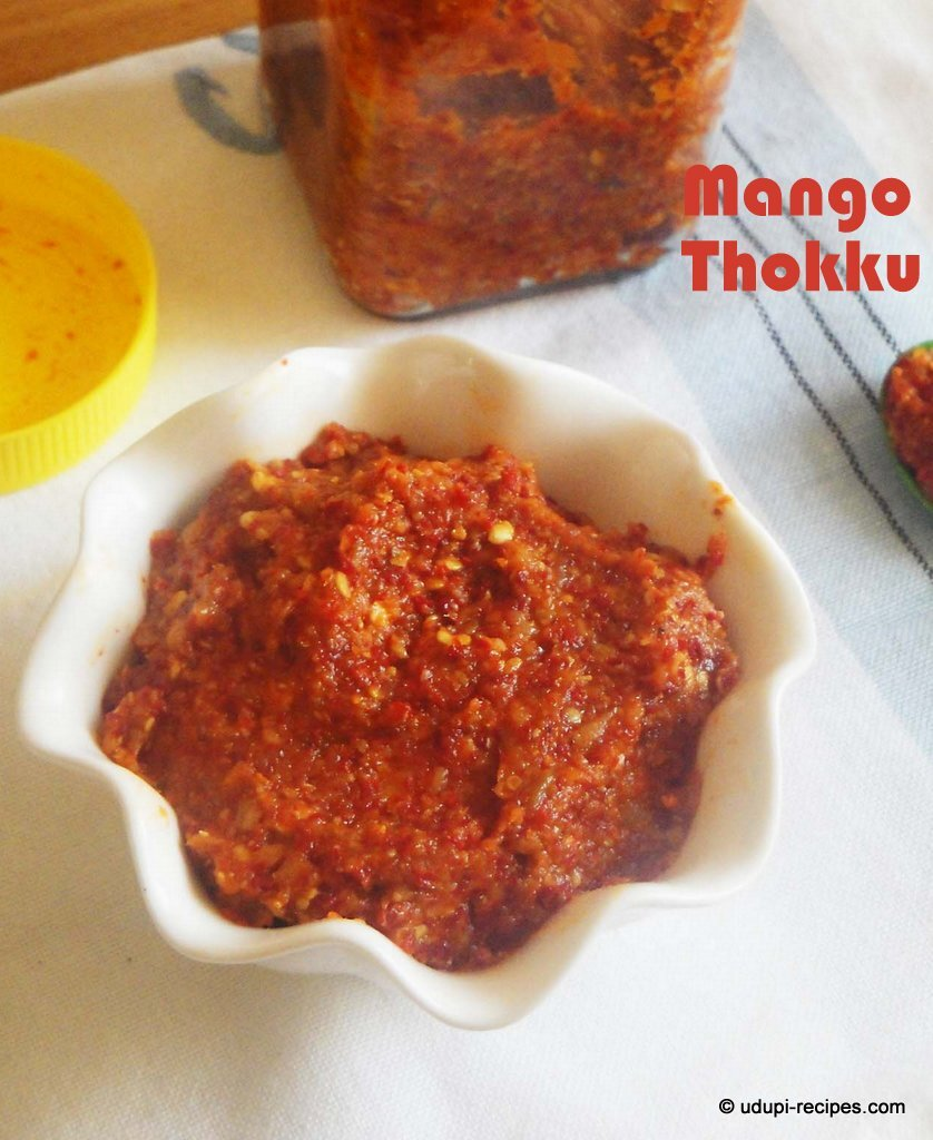 Mango Thokku Recipe | Grated Mango Pickle