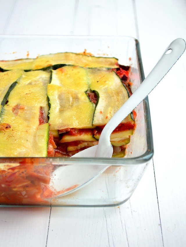 Fast & Fresh: Courgette lasagne