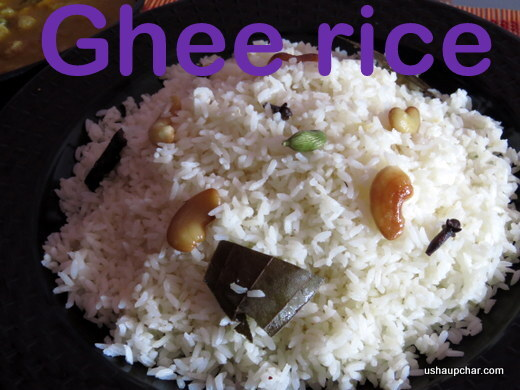Ghee rice recipe
