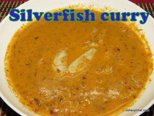 Silver fish curry