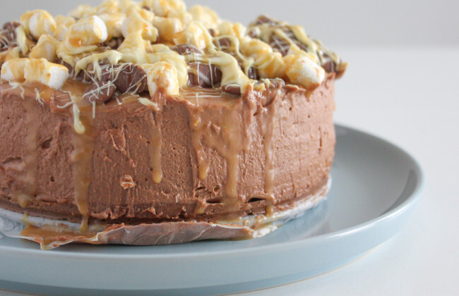 Chewy chocolate cheesecake + winactie