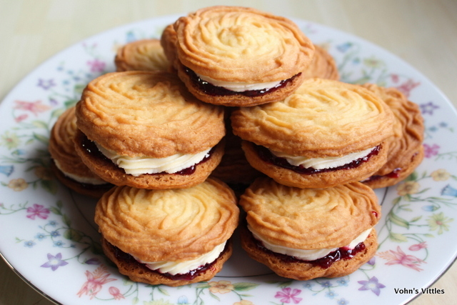 Viennese Whirls – Great British Bake Off 2016 – Week Two