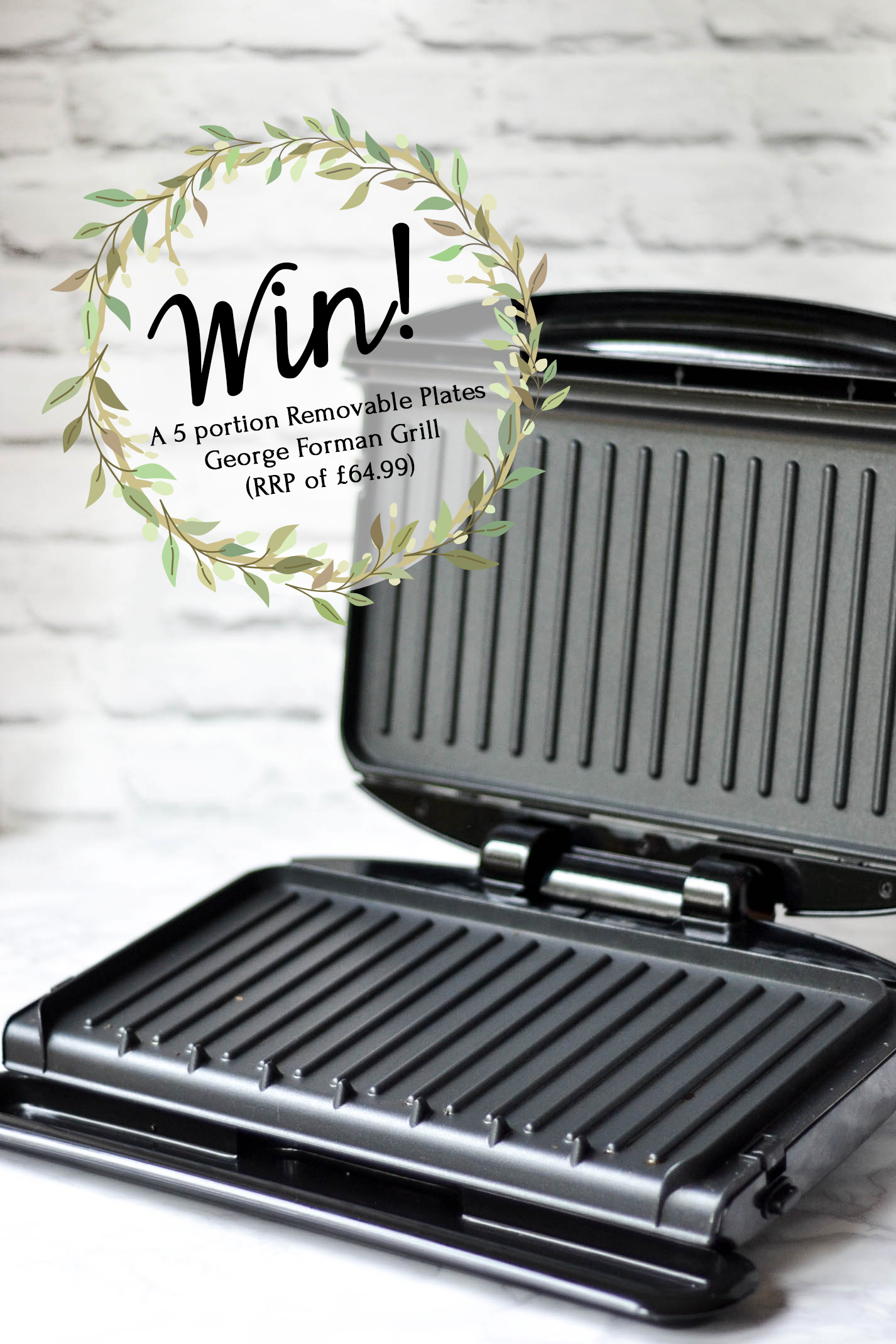 George Forman Grill Review + Giveaway