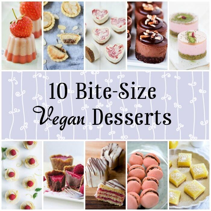 10 Mini Vegan Desserts