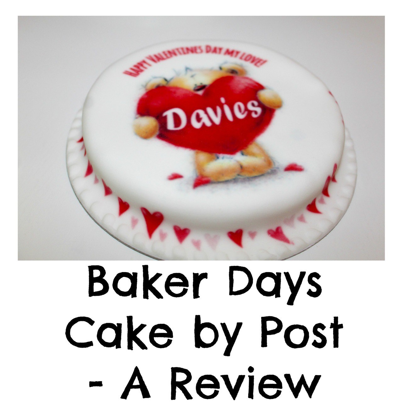 Cake by Post – Baker Days Review And Giveaway