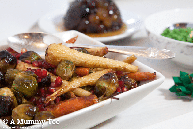 A quick vegetarian festive dinner, and quick clean up with Whirlpool's PowerDry dishwasher