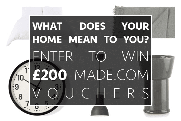 What makes your home special? Grab your chance to win £200 in Made.com vouchers