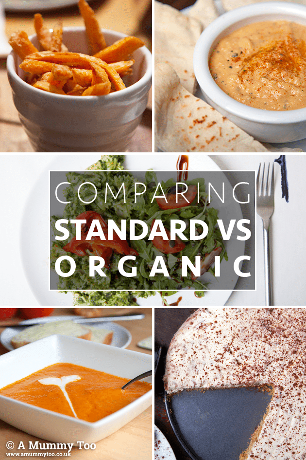 Naturally different? How does standard vs organic compare?
