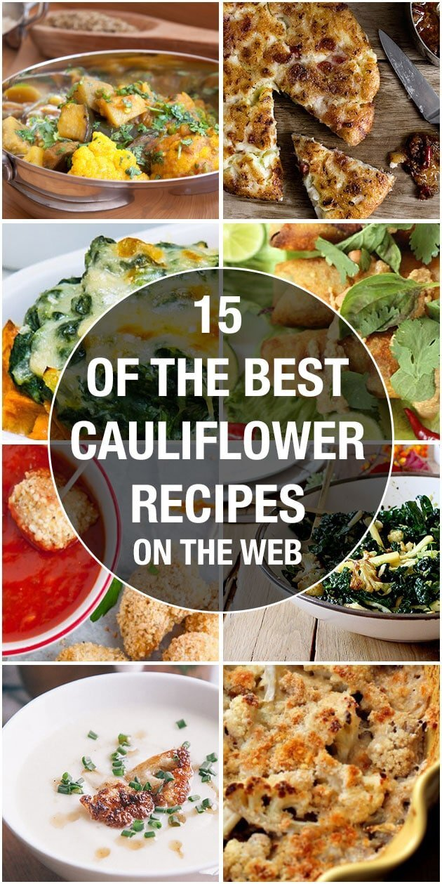15 of the best cauliflower recipes on the web