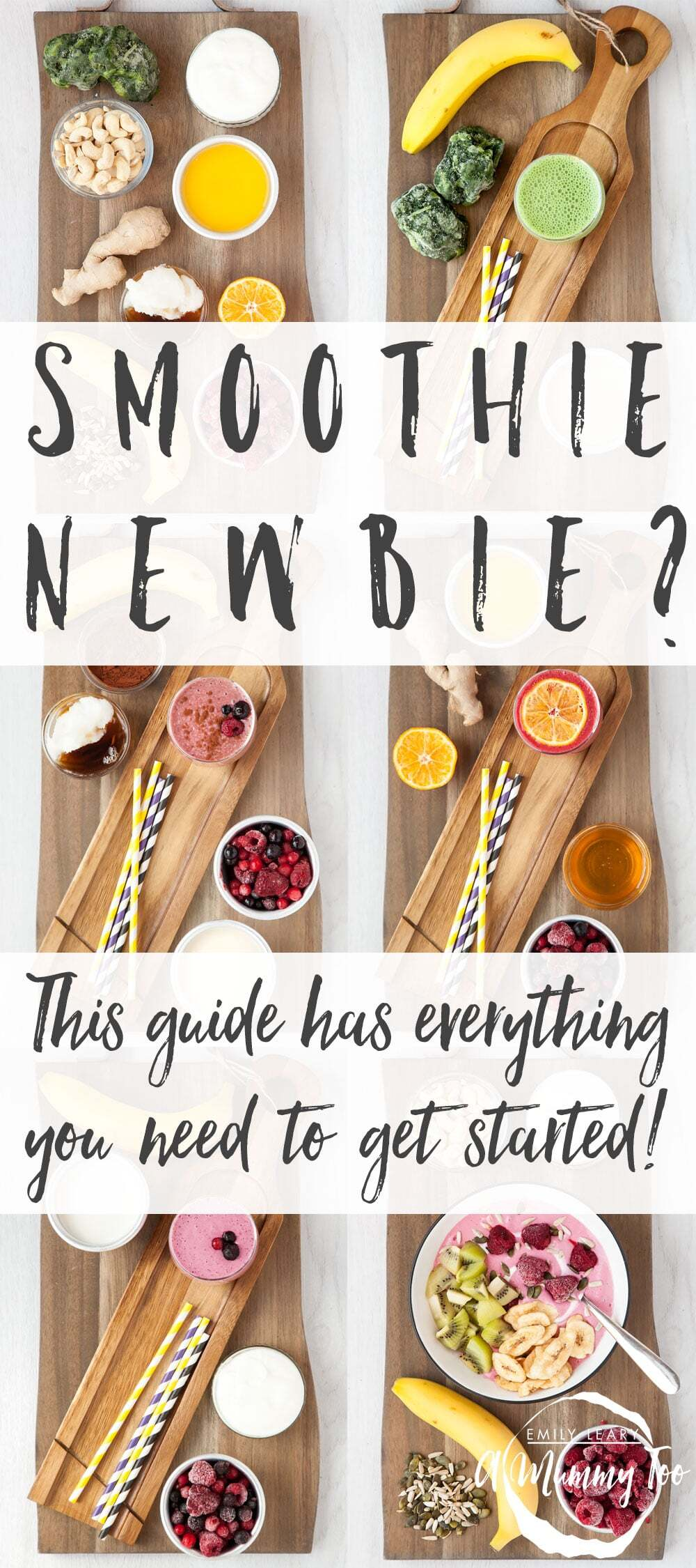 New to smoothies? These recipes have got you covered