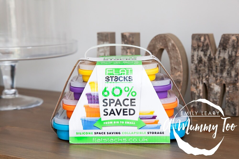 Clever Food Storage: Flat Stacks (review + giveaway)