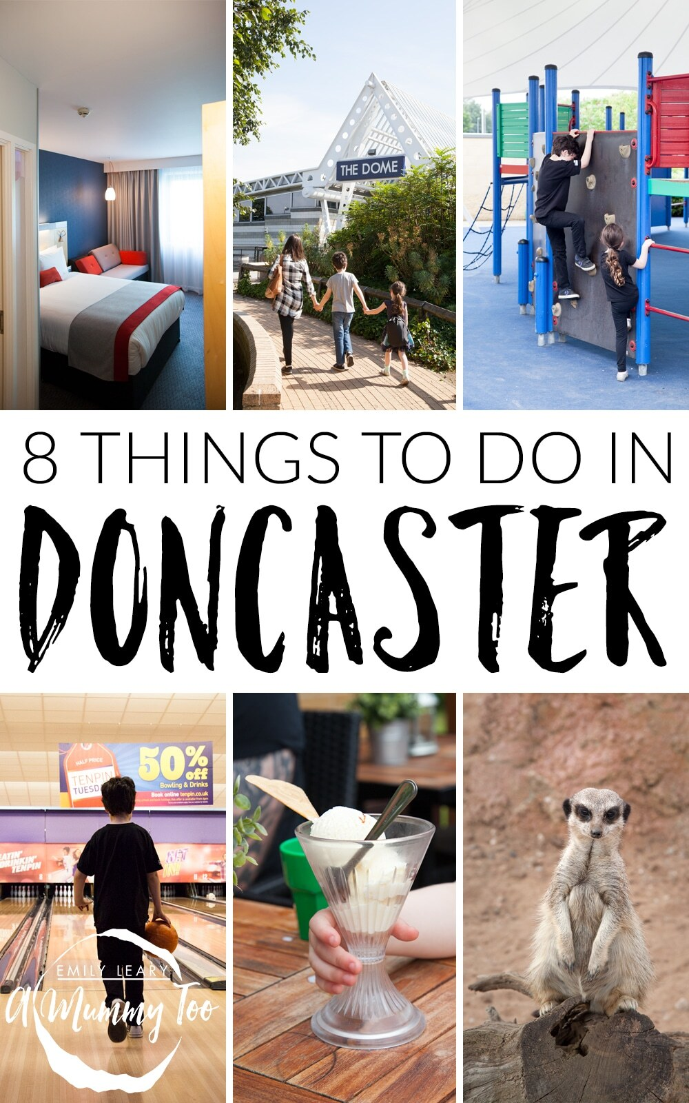 A family weekend exploring what Doncaster, Yorkshire has to offer