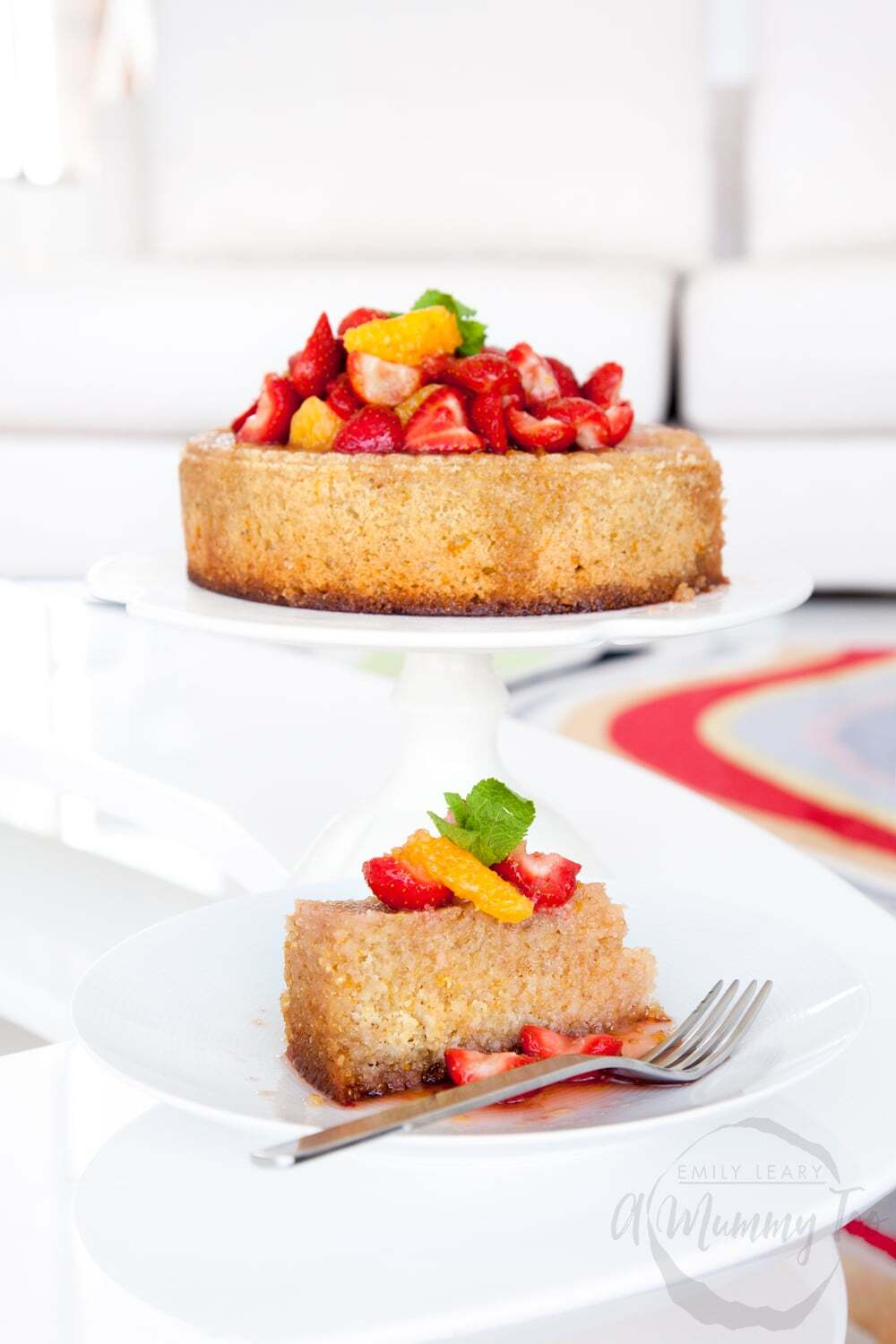 Orange, almond and quinoa cake (gluten-free, dairy-free)