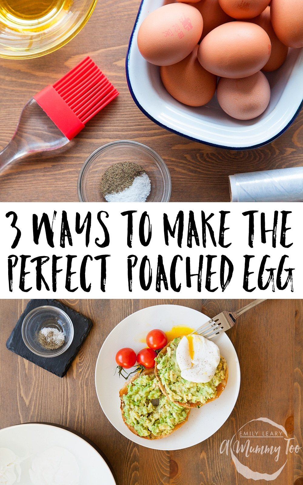 3 ways to poach the perfect egg, every time