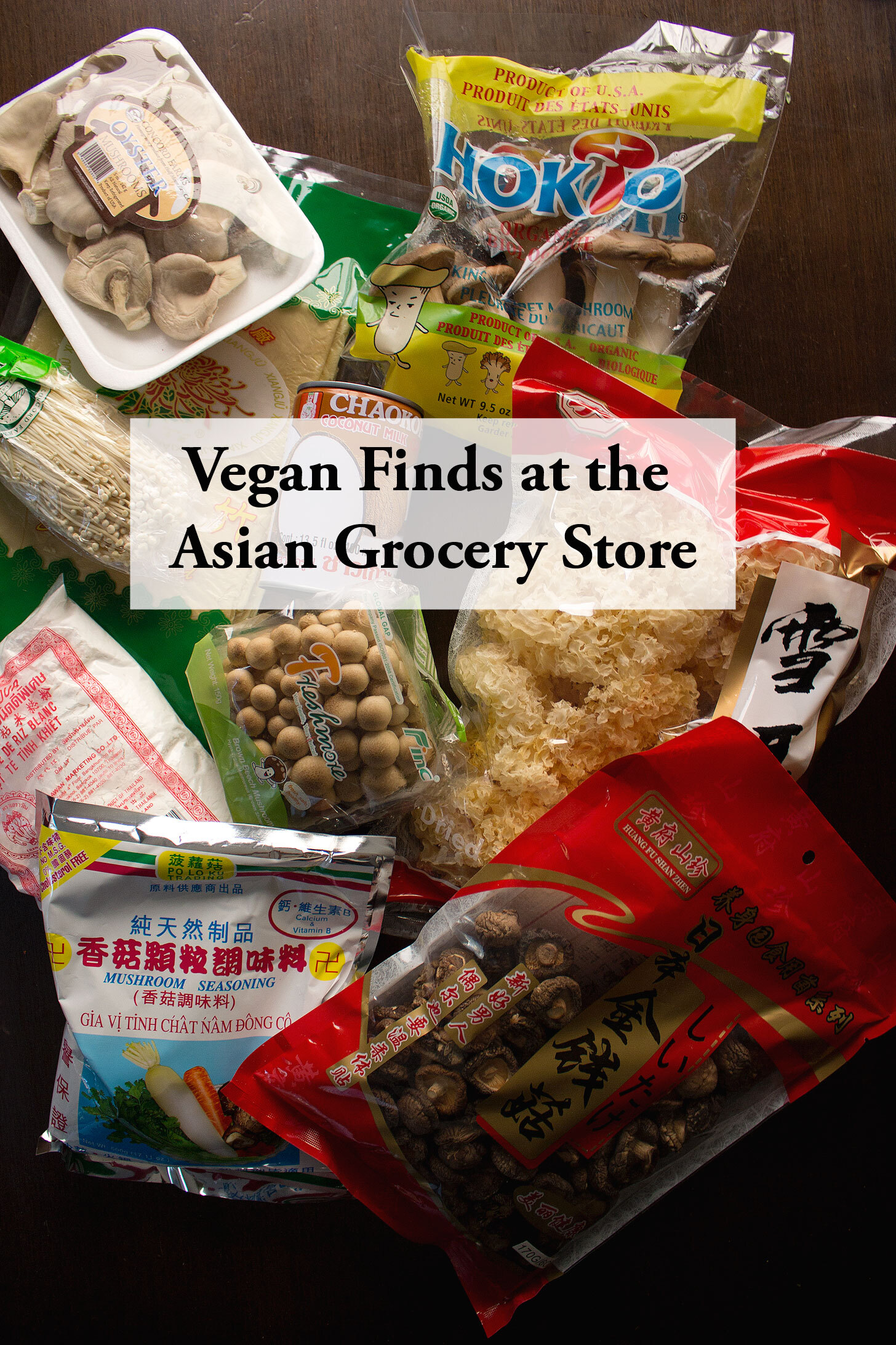 Vegan Finds at the Asian Grocery Store