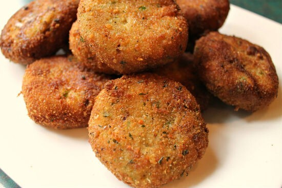 Vegetable Rice Cutlet
