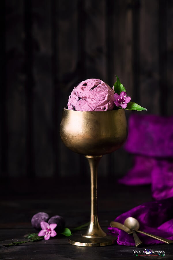 Jamun Ice Cream(Black Plum Ice Cream)