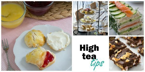 High tea tips