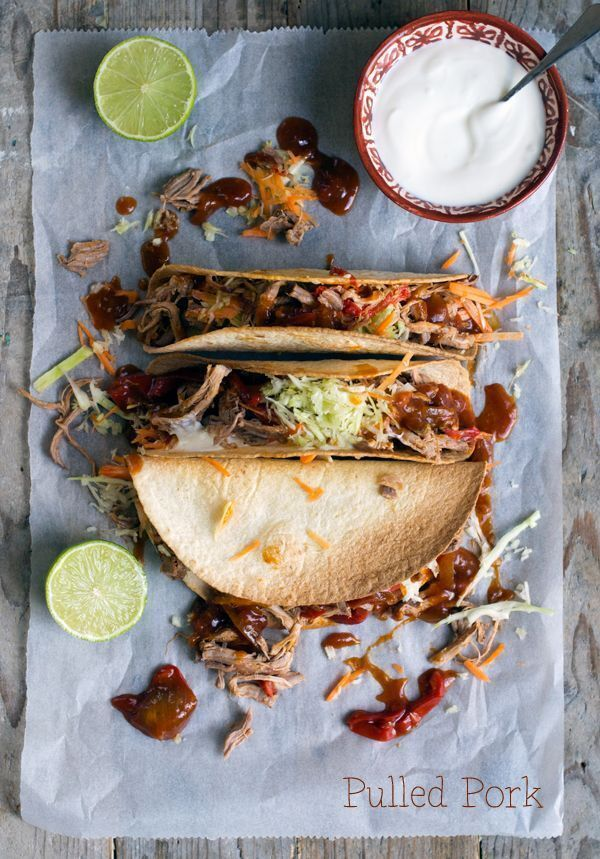 Pulled Pork Tortilla's
