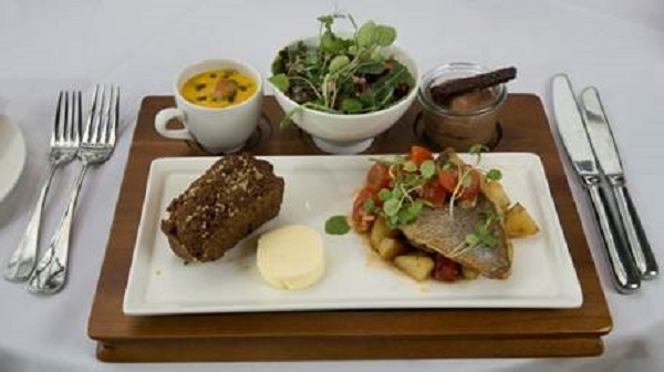The Bristol Hotel introduces speedy £10 business lunch