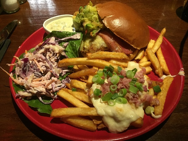 TGI Fridays, Cabot Circus: November 2016 Review