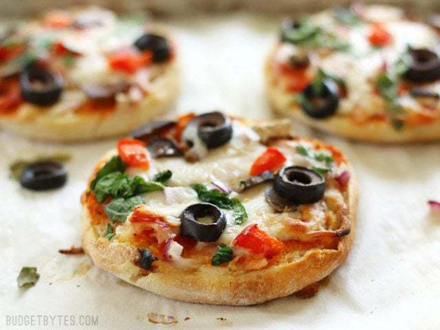 Freezer Ready Mini Pizzas