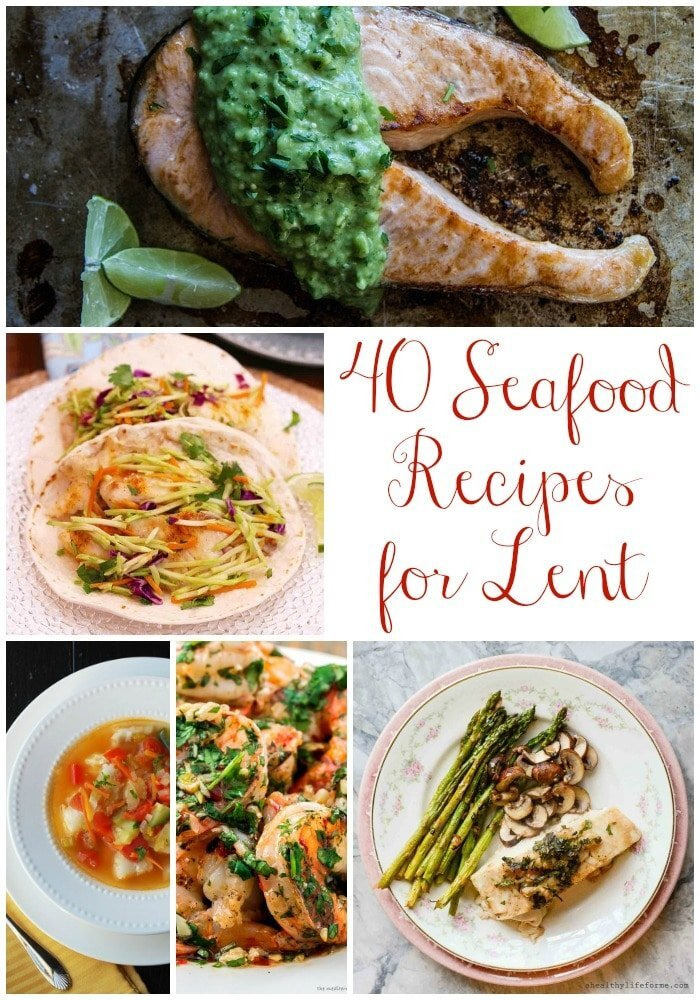 40 Seafood Recipes for Lent