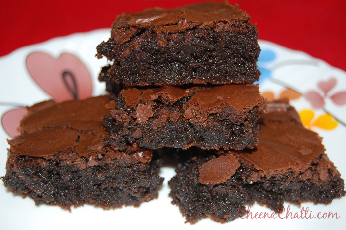 Double Chocolate Mocha Brownies Recipe