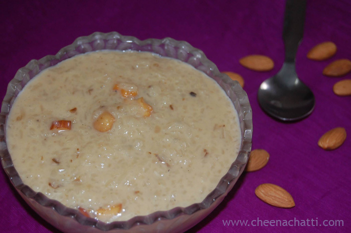 Aval Payasam – Rice flakes Kheer