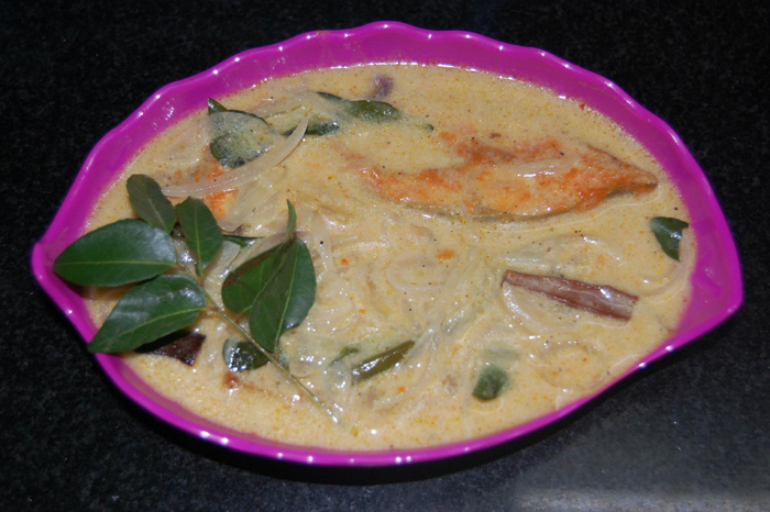 Kerala style fish molly recipe