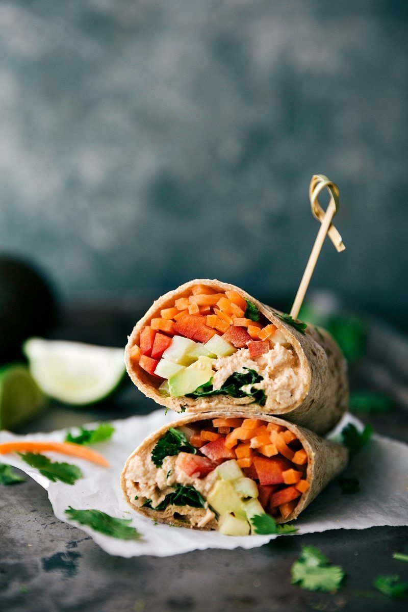 Sriracha Tuna Salad Wraps