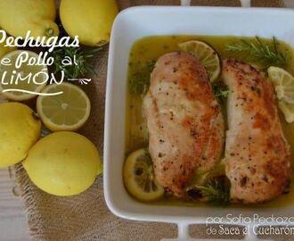 Recetas de pechuga de pollo al horno facil mytaste - Pechugas de pollo al limon ...