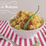 arroz amarillo mexicano