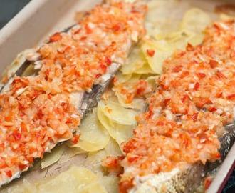 Recetas de como cocinar pescado al horno sin aceite mytaste for Cocinar sin aceite
