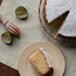 Coconut & Lime Drizzle Cake