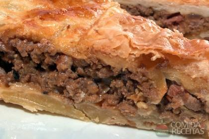 Receita de Steak and kidnei pie